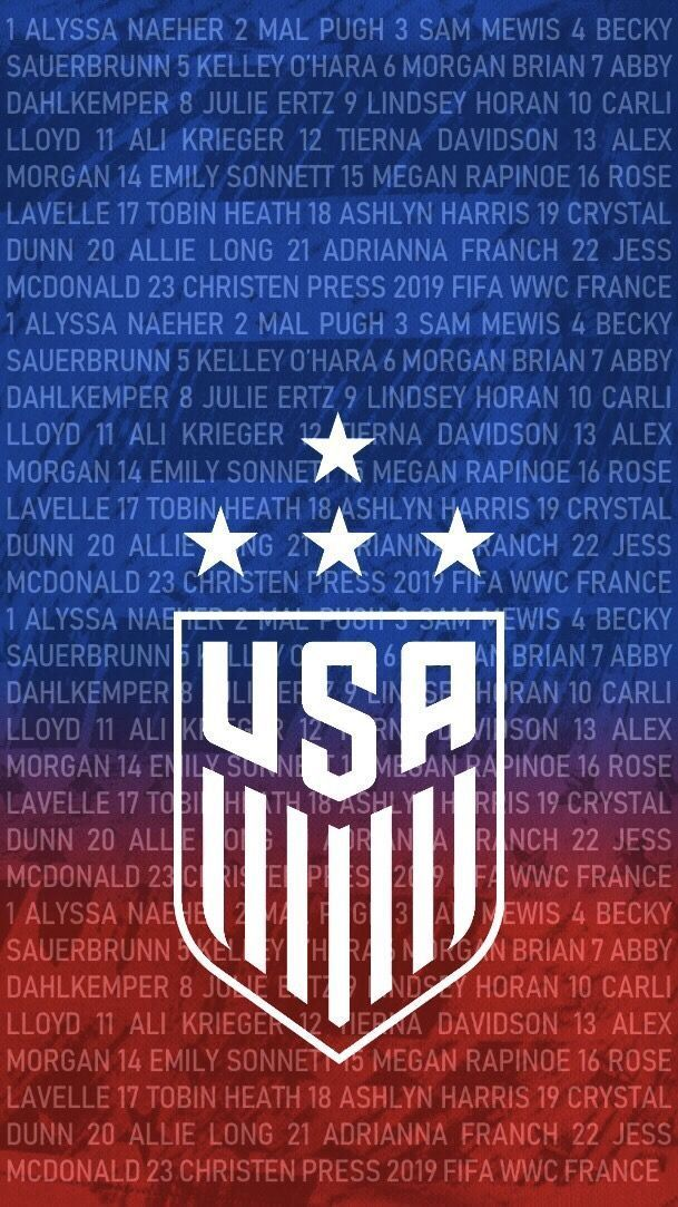 Usa Women S Soccer Wallpaper Womens Soccer Wallpaper Usa Frauen Fussball Wallpaper Fon In 2020 Usa Soccer Team Usa Soccer Women Us Women S National Soccer Team