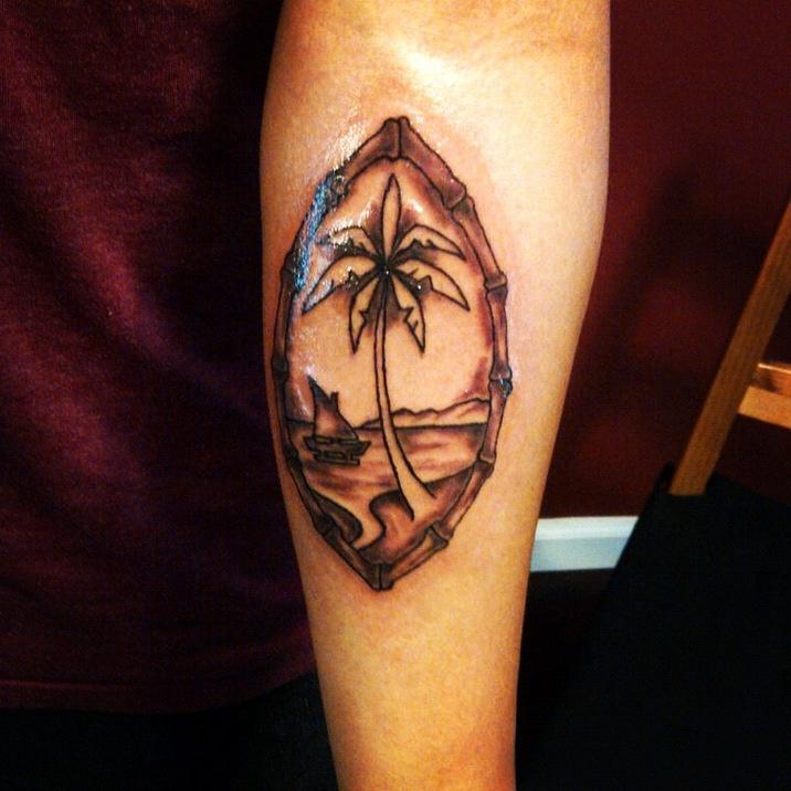 guam seal tattoo by ranz tattoos pinterest seals
