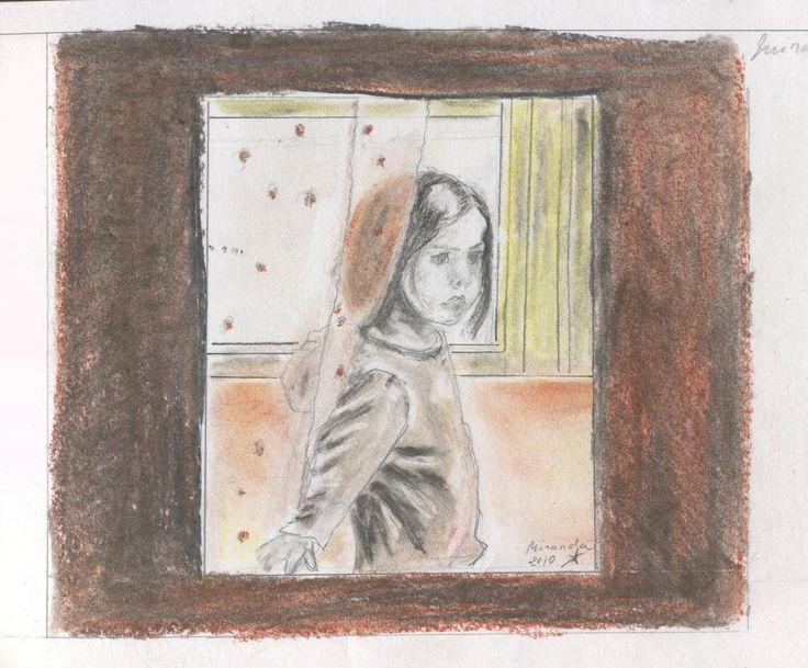 Miranda en la ventana