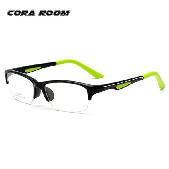 1e629b8e412 fashion Optics eyeglasses frames men brand Designer student Prescription  glasses frame boy Myopia frames computer glasses
