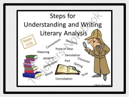 steps of writing a literary essay A critical analysis paper is not that hard to write if you have some good  for  example, if you are critically analyzing a piece of literature, you will need to look  at.