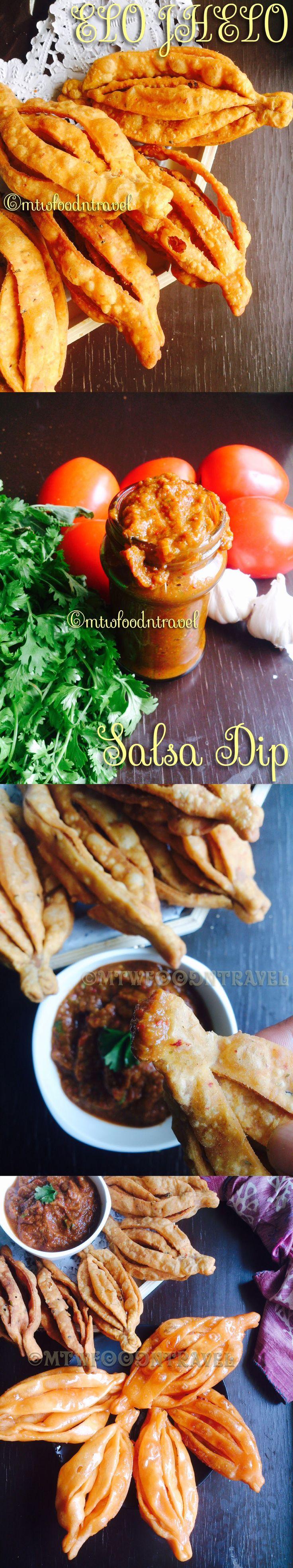 Elo Jhelo ~ Savoury and Sweet crunchy dry snacks