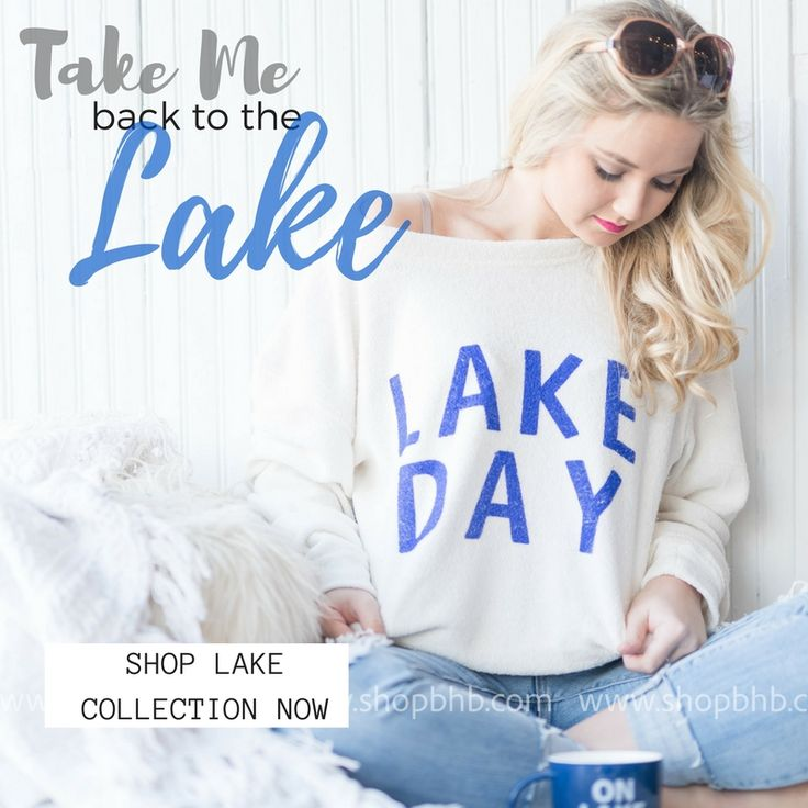 OMG....this is the spot to get your lake wear attire....Fashion at the lakes!  Click in and see our whole collection.
