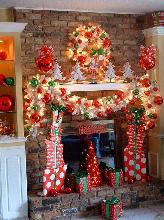 Mantel Decor For Christmas 16 best christmas mantle images on pinterest   christmas mantles