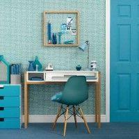 Blu rilassante per Studio/ Ufficio in casa