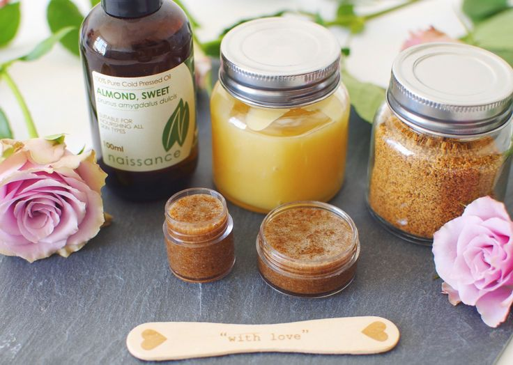 The best natural homemade lip scrub – a remedy for dry and chapped lips