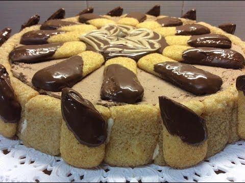 """Torta """"5 ingredienti"""" senza forno - TUTTI A TAVOLA - YouTube"""