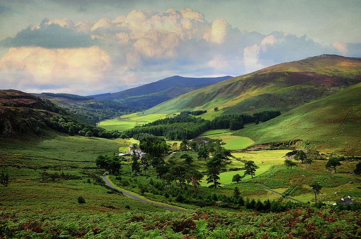 One Perfect Day In Emerald Valley Of Wicklow  by Jenny Rainbow