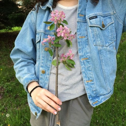 Flowers Lovely Indie Hipster Pretty Girl Aesthetic Soft Grunge Plants Pale Pastel Tumblr Fashion Grunge Aesthetic Clothes