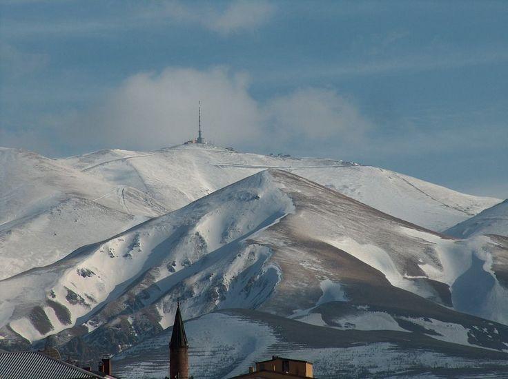 Palandöken Mountain Erzurum / Turkey