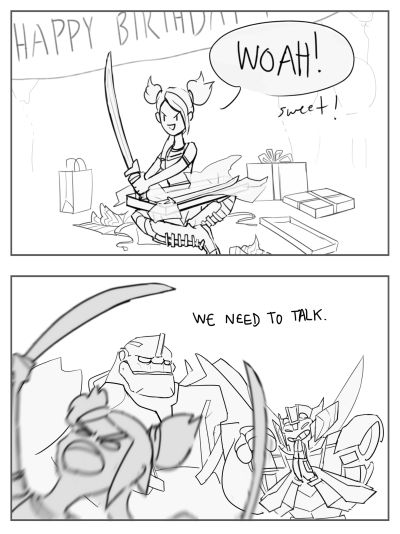 IM DYING! Wheeljack what have you done? XD<<<look at how proud he is of himself though