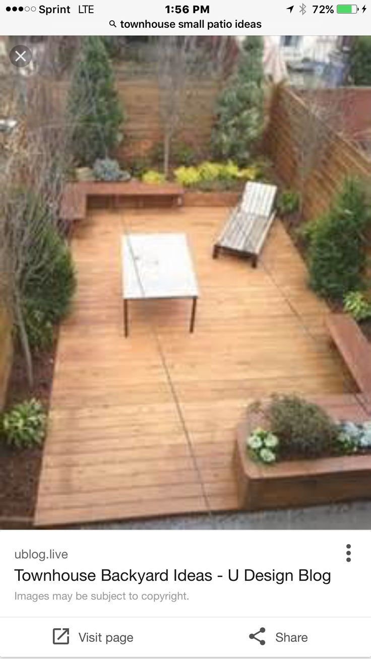Town House Landscape Design and Renovation