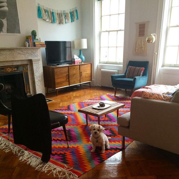 Aidy Bryant's apartment. Life goals.