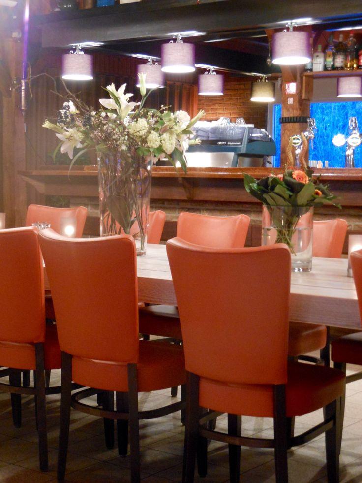Het restaurant bij ons chalet Markelo heeft een ala carte kaart #sfeervol #restaurant www.chaletmerkelo.nl