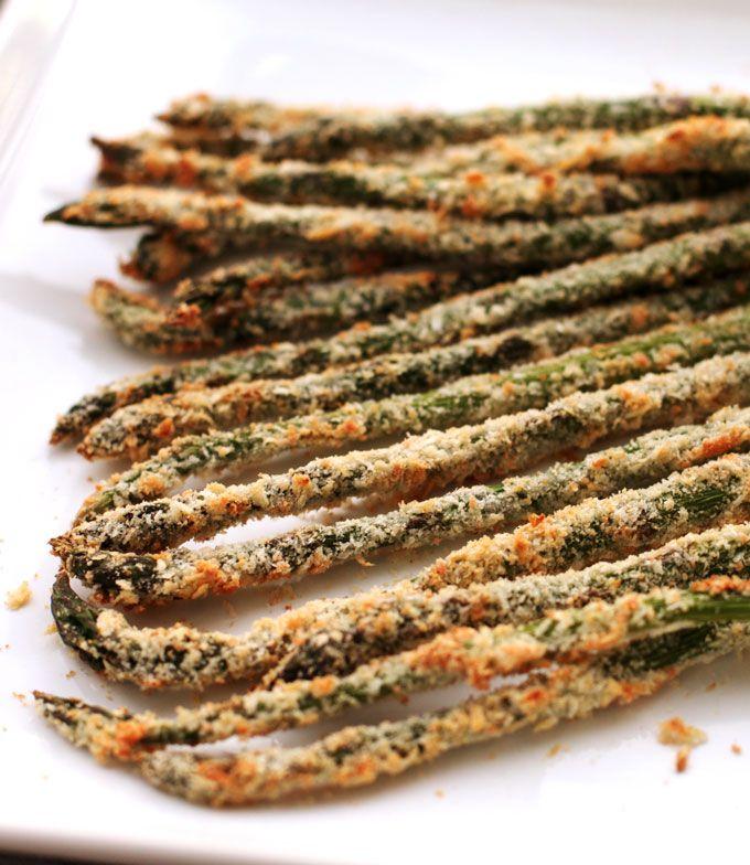 Baked #Asparagus Fries