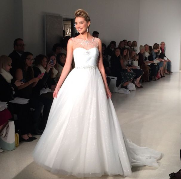 Fresh An Elsa wedding gown Plus the first look at the other Disney Wedding