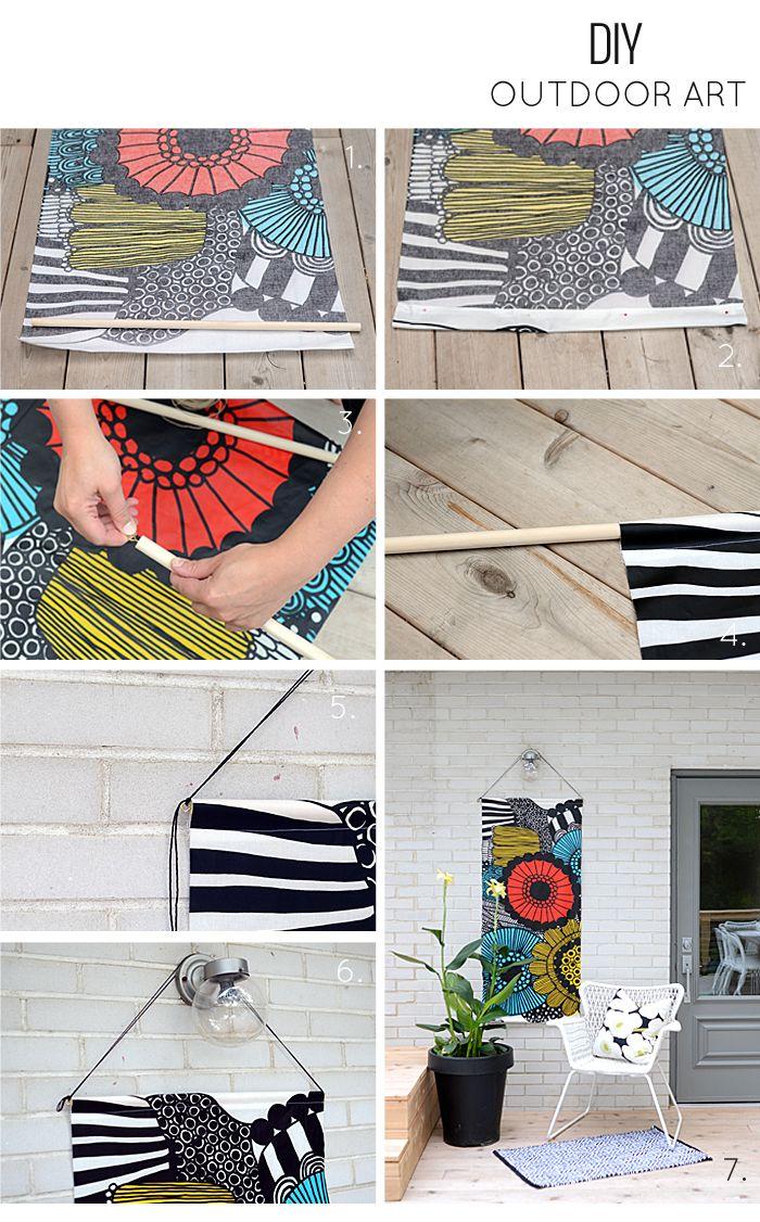 Nalle's House: DIY Outdoor Art