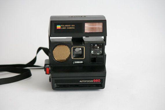 Macchina fotografica vintage Polaroid 600  SUN 660 di DoubleRandC