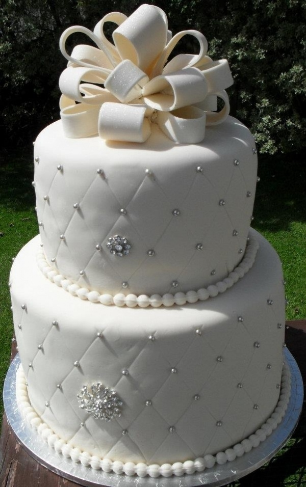 25+ Best Ideas about 25th Wedding Anniversary Cakes on ...
