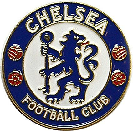 New Official Football Team Pin Badge (Chelsea FC)