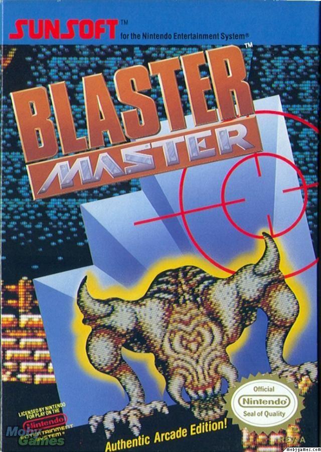 """Blaster Master"" - Nintendo Entertainment System (1988)"
