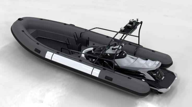 Semi-rigid utility boat / jet-ski propelled PRO 626 Sealver