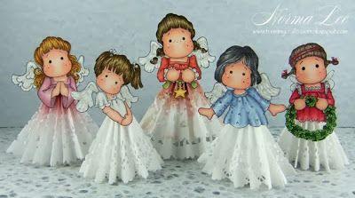 From My Craft Room: Christmas Angel (Plus Bride) Tutorial