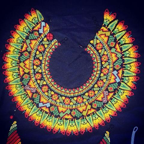 Okama fursiru #colores #diseños #artesanias #plazamayor #medellin #embera #indigena #internacional #arteindigena #plazamayormedellin