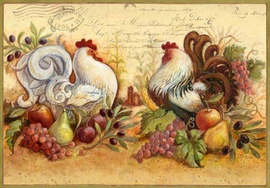 Картинки для декупажа кухни для печати на принтере