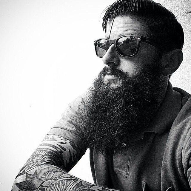 @raisedbywolves83 #beard #beardgang #beards #beardeddragon #bearded #beardlife #beardporn #beardie #beardlover #beardedmen #model #blackandwhite #beardsinblackandwhite