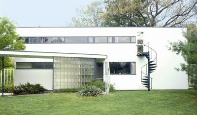 Gropius house was the home of Walter Gropius. It was his first architectural granted building in the United States. It was built in Lincoln, Massachusetts in 1938.
