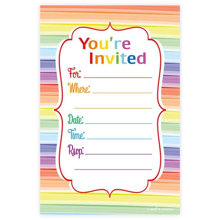 Best 25+ Unicorn birthday invitations ideas on Pinterest | Unicorn ...