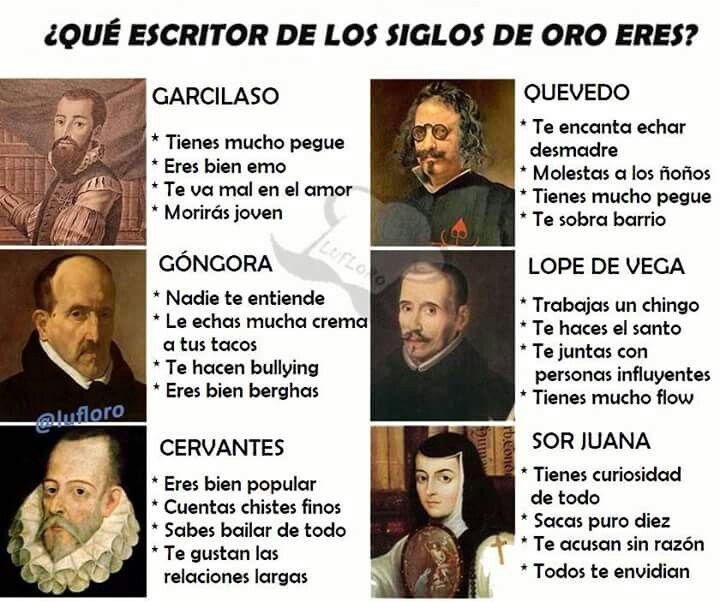 CERVANTES, Lope de Vega y Sor Juana!😊😌