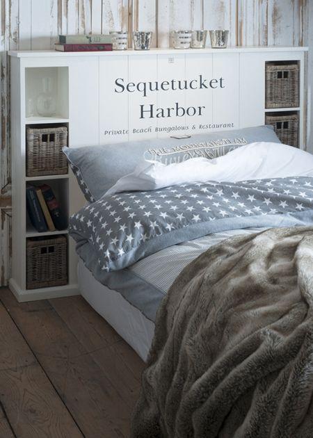 €599,- Sequetucket Harbor Single Headboard #living #interior #rivieramaison