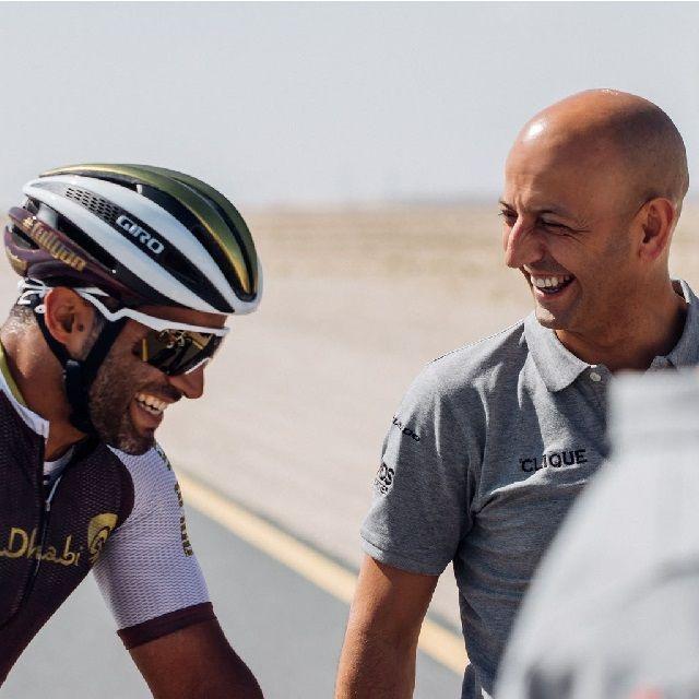 El UAE Team Emirates se está preparando para su carrera: el Dubai Tour 2018.La carrera es muy importante para el equipo pues servirá de promoción del equipo y del deporte a la luz de la premisa básica detrás del proyecto de ciclismo UAE Team Emirates, que es promover el deporte en los Emiratos Árabes Unidos.   #JoxeanFernándezMatxin #LorenzoFizzaVerdinelli #UAETeamEmirates