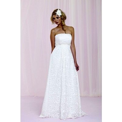 67 best wedding gowns images on pinterest homecoming for Empire wedding dresses uk