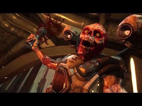 Doom Official Gameplay Trailer E3 2015 YouTube