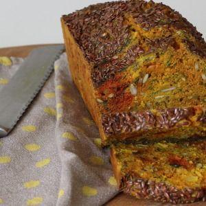 I Quit Sugar - Turmeric, Goats Curd + Onion Seeded Loaf