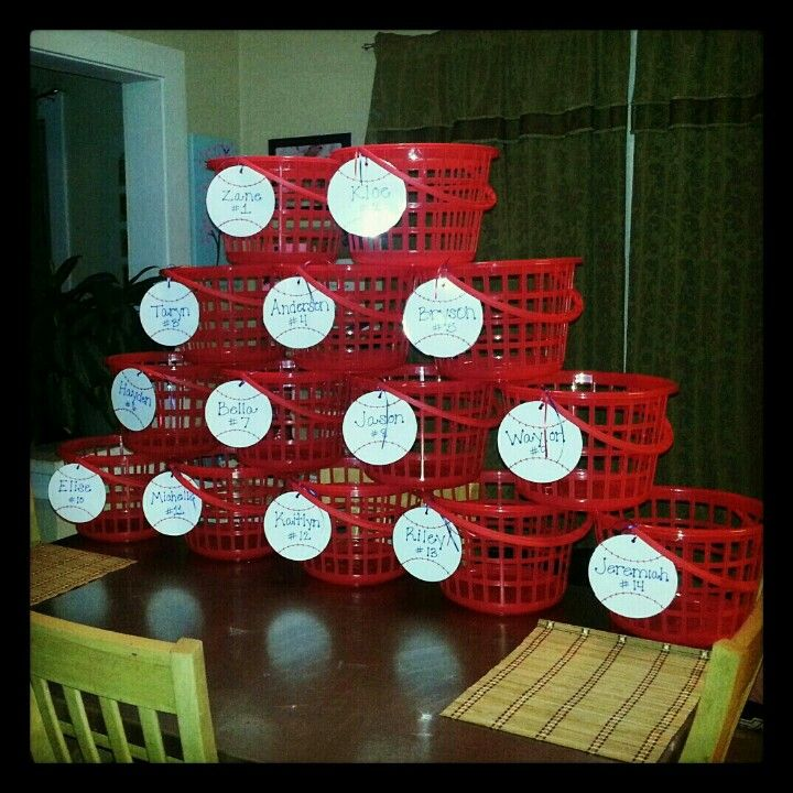 Gifts For Organizers >> dugout baskets | Sports | Pinterest | The o'jays, Baseball and Need to