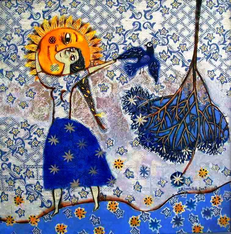 """My Sun"" by Anna Silivonchik - very Cheval-esque"