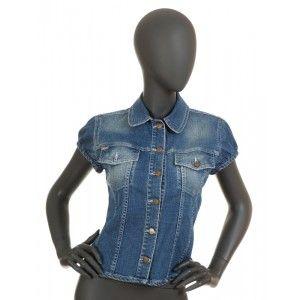Burberry - jeansowa bluzka - Fashioncode.pl