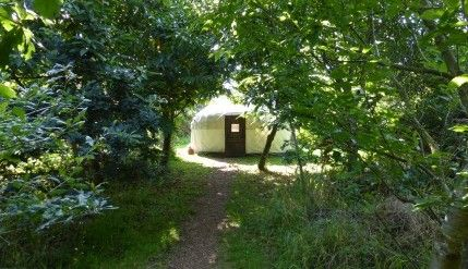 Chestnut Yurt 1 - Anglesey Tipis and Yurts
