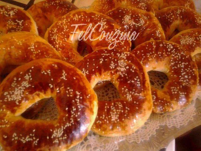 Kaak Ka3k Gateau Sec Algerien Kochrezepte Rezepte Und Geback