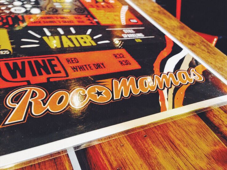Today's BAE-venture led us to Roco Mamas in Melville, Johannesburg.