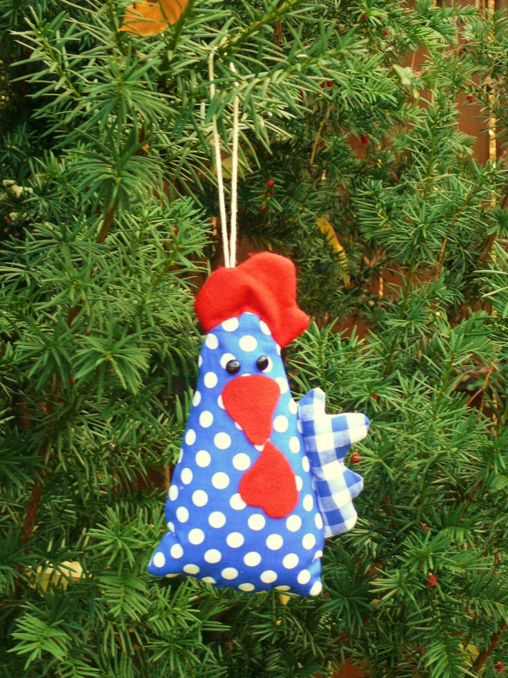 My sewing- Rooster Tree