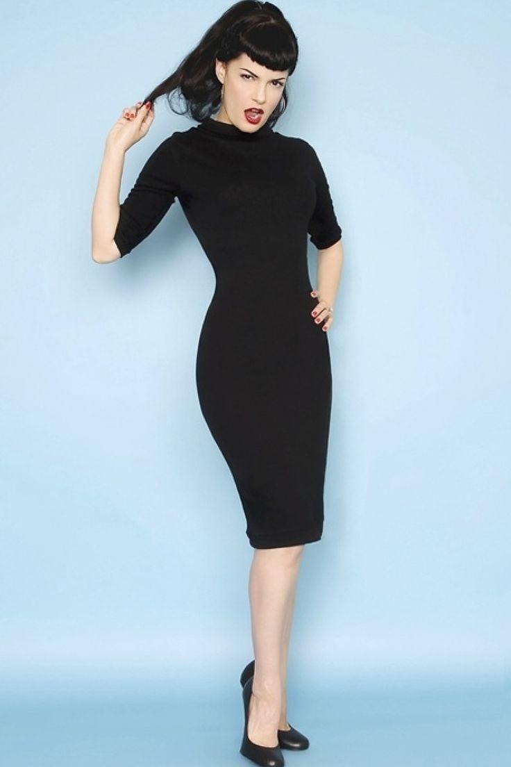 #topvintage  Is dit niet de prachtigste, simpele jurk! Sexy, sterk, vrouwelijk, i love it!!! @TopVintage Retro Boutique   http://topvintage.nl/nl/vintage-retro/heartbreaker-super-spy-dress-black-zwart-jurk