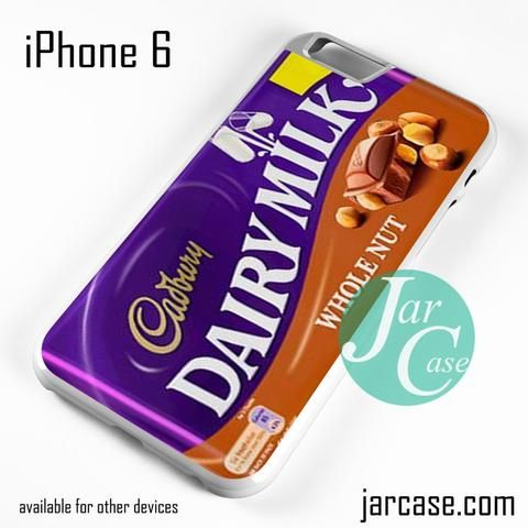 Cadbury Dairy Whole Nut Phone case for iPhone 6 and other iPhone devices
