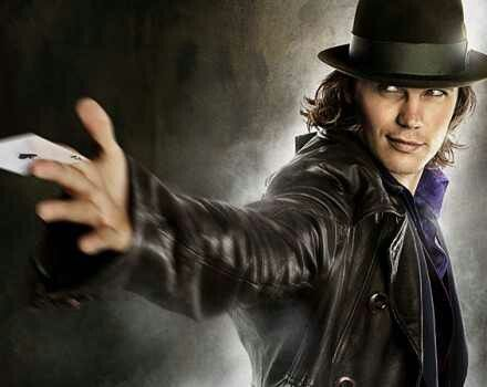 Gambit! #xmen #origins #wolverine Taylor Kitsch!! Little obsessed... I think it's funny though that he worked with Lynn Collins in this film and then she played his love interest Dejah in his movie John Carter.
