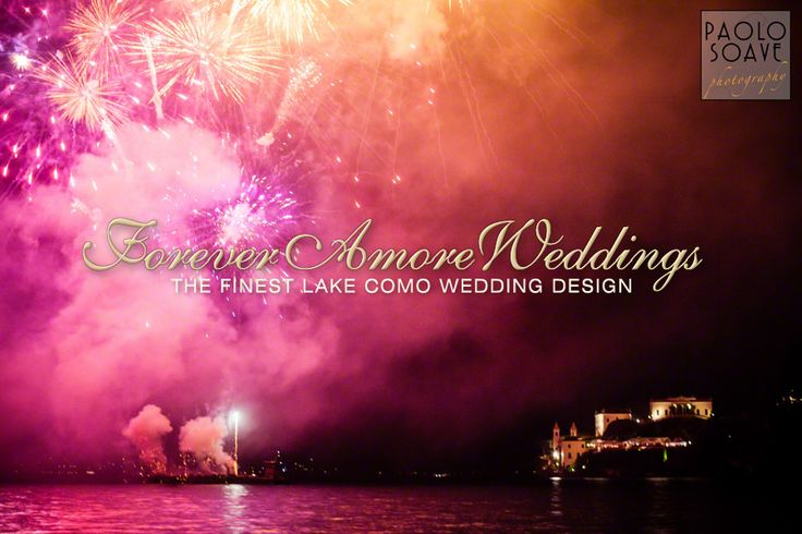 Spectacular firework display at Villa del Balbianello. Picture by Paolo Soave ©
