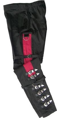 Michael Jackson Bad Buckle Costume Pants - Authentic Michael Jackson Costumes